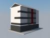 Rehabilitación de fachada de edificio en Amorebieta Vizcaya