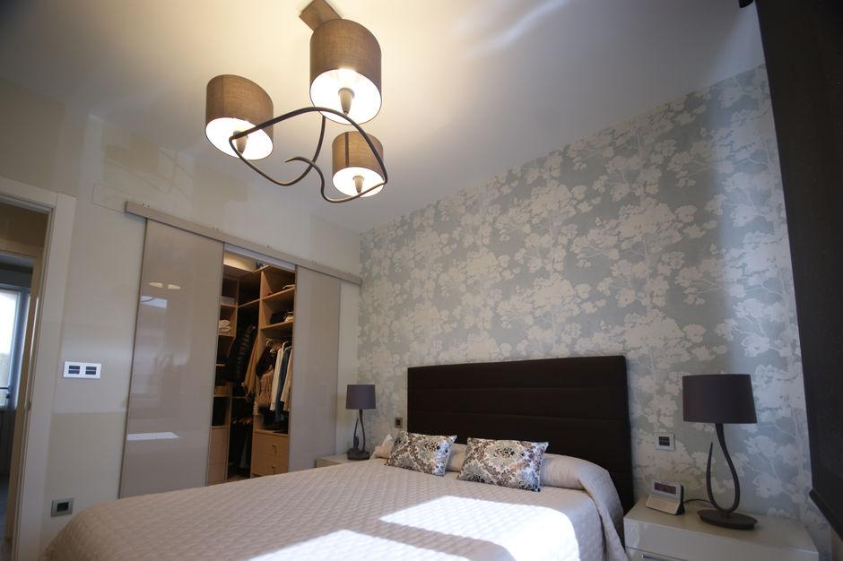 Dormitorio vestidor en tonos claros - Vista 1