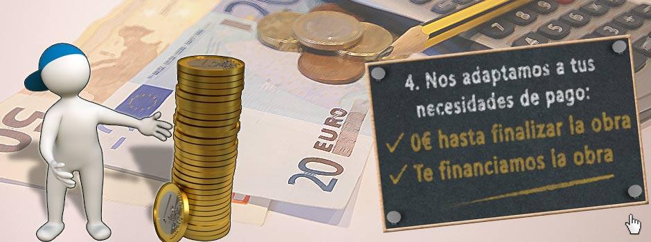 Cero € hasta finalizar la obra, Te financiamos tu reforma - Reformas Unai Ordoñez