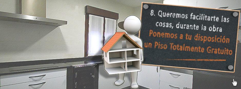 Ponemos a tu disposición un Piso totalmente gratuito durante la reforma - Reformas Unai Ordoñez