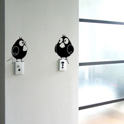 Interruptores personalizados con vinilos