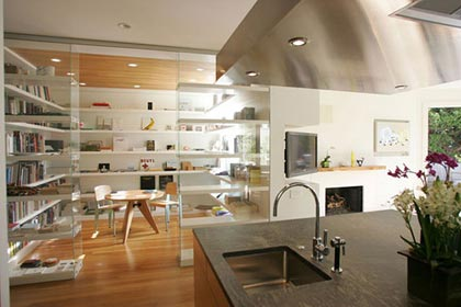 Cristaleras para sensación de amplitud en pisos pequeños