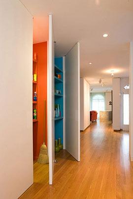 Muebles convertibles para la decoración de pisos pequeños