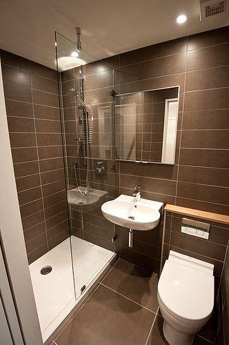 Reformas de baños con mampara no cerrada