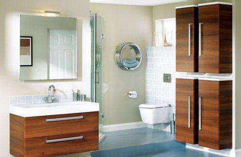Reformas de baños muebles en madera