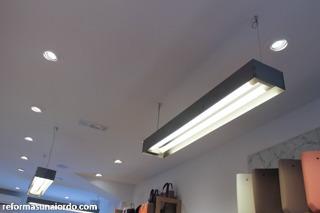Lámparas de suspensión en chapa de acero