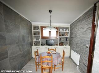 Reforma de cocina en Iurreta zona de comedor