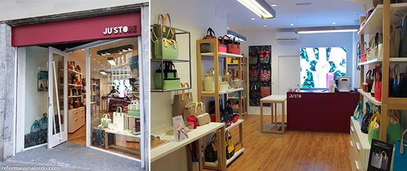 Reforma y renovación de un comercio en Bilbao fachada exterior e interior tienda