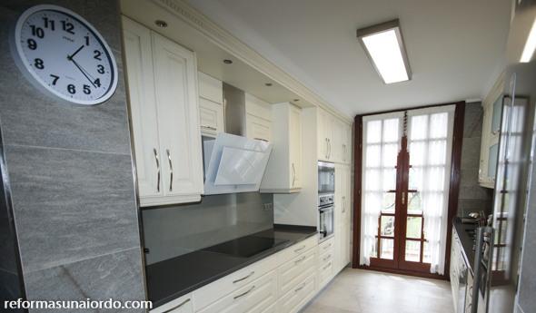 Reforma de una cocina en Iurreta Bizkaia Portugalete Basauri Gernika cabecera