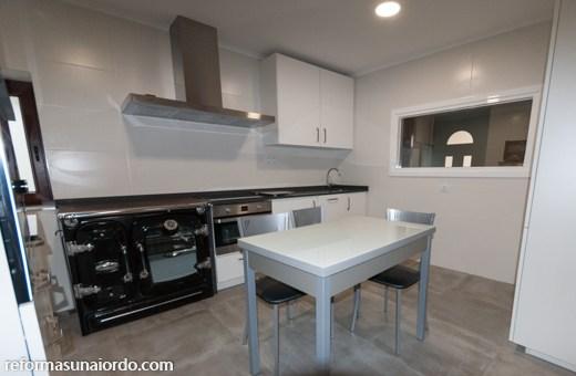 Obra y cambiar muebles cocina en Gernika Busturia Bizkaia