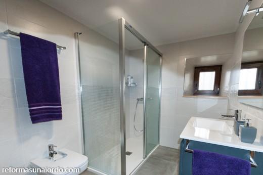 Reforma de un baño completo en Gernika Busturia Bizkaia