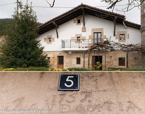 Reforma integral de un caserio en Gorozika Muxika Fachada exterior