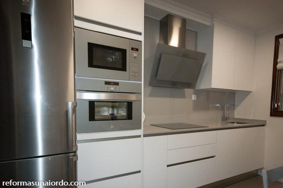 reforma de una cocina en Amorebieta