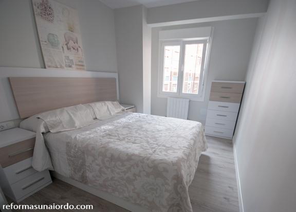 Reforma y renovacion de dormitorio de matrimonio en Durango