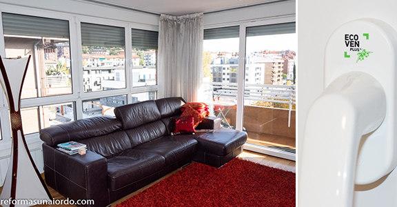 Aislamiento térmico y acústico ventanas ecovent plus